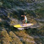 SUP серфинг на надувной доске EZ