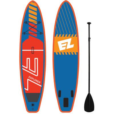 Надувная доска для SUP серфинга EZ EXPLORER
